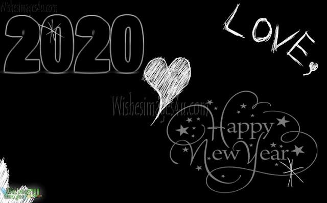 New year 2020 Desktop Love Wallpapers
