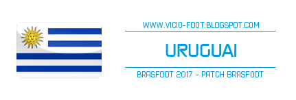 patch uruguai brasfoot 2018