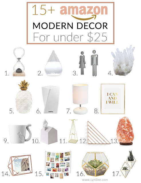 15 Modern Decor Finds On Amazon For Under 25 Lynsire