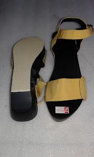 Kelom Geulis Talincang sandal kelom