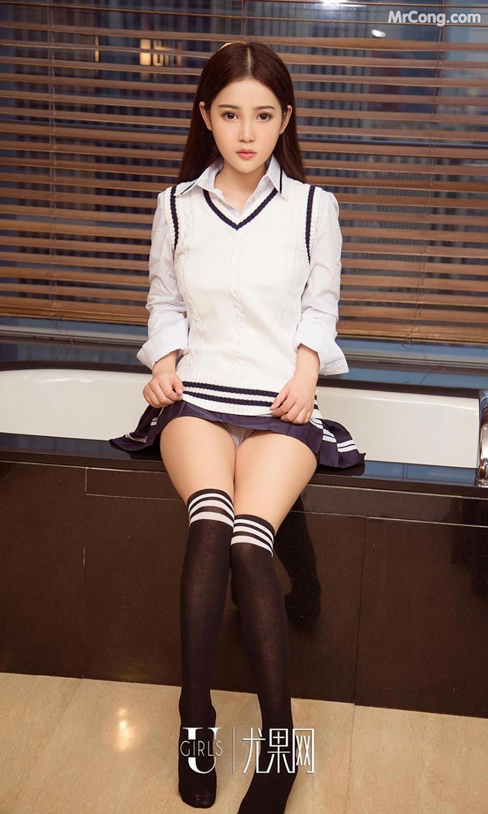 Image UGIRLS-Ai-You-Wu-App-No.928-Xia-Xi-MrCong.com-005 in post UGIRLS – Ai You Wu App No.928: Người mẫu Xia Xi (夏夕) (40 ảnh)