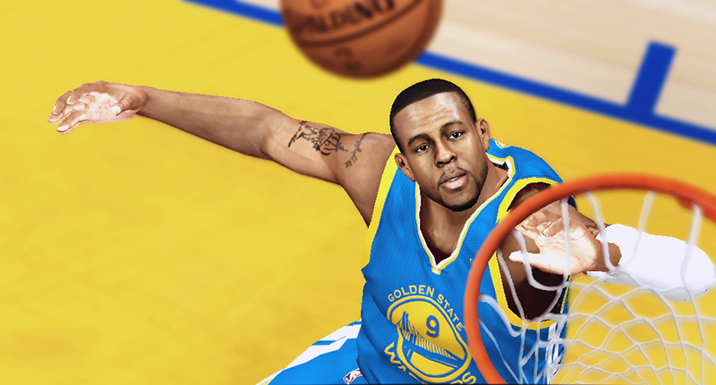 NBA 2K14 Andre Iguodala Cyberface Patch