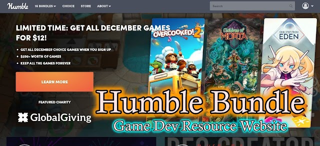 What is Humblebundle? Inde Game Developer's one of the useful resource place