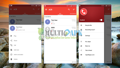 Download Aplikasi Call Recorder - ACR Premium Versi 18.7 Apk Android Terbaru