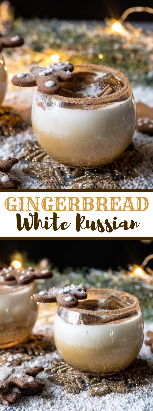Gingerbread White Russian #drinks #christmas