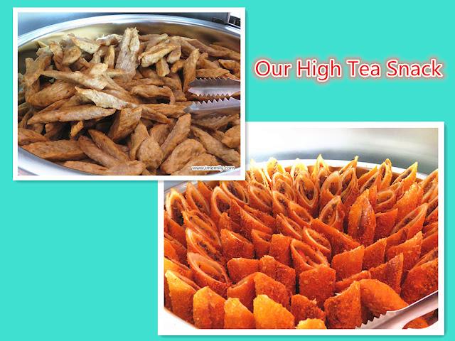 Pulau Besar Johor high tea snack