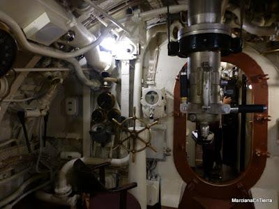 Interior del submarino EML Lembit, Tallin