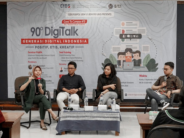 Digitalk Goes to Campus bersama Center for Digital Society