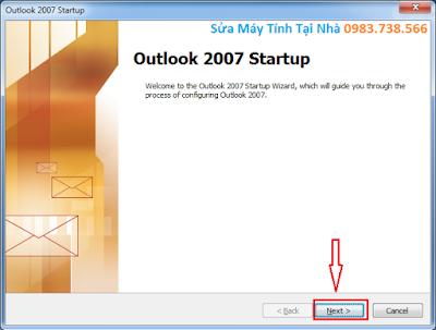 Cài Outlook cho Gmail - H03