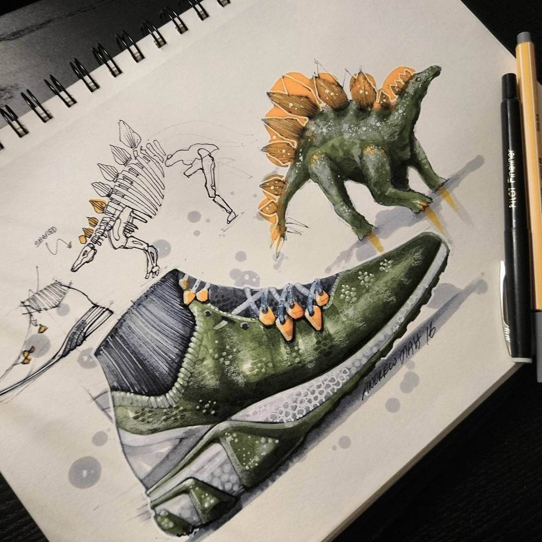 04-Stegosaurus-Trainers-TiahDesign-Animal-Inspiration-for-Product-Design-www-designstack-co