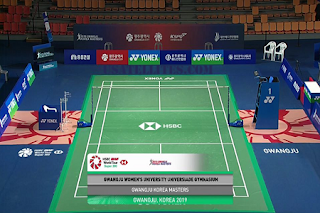 HSBC BWF World Tour Super 300 Gwangju Korea Masters AsiaSat 5 Biss Key 23 November 2019
