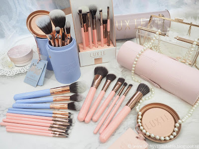 Luxie Beauty Brush Set Review & Giveaway