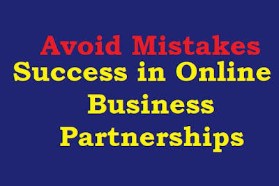 Avoid Mistakes for Long-term Success in Online business Partnerships