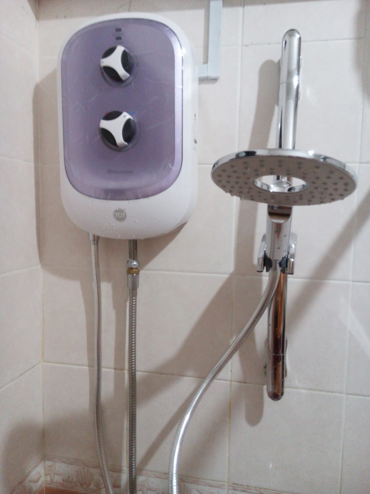 Anne 39 s product reviews blog 707 water heater princeton - Shower water heater ...