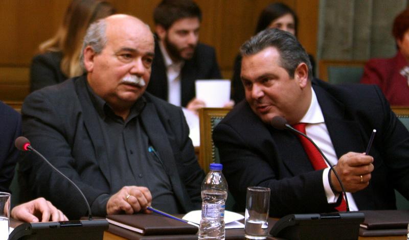 «Ηχηρό» άδειασμα Βούτση σε Καμμένο για Μακεδονικό και αμερικανικές βάσεις