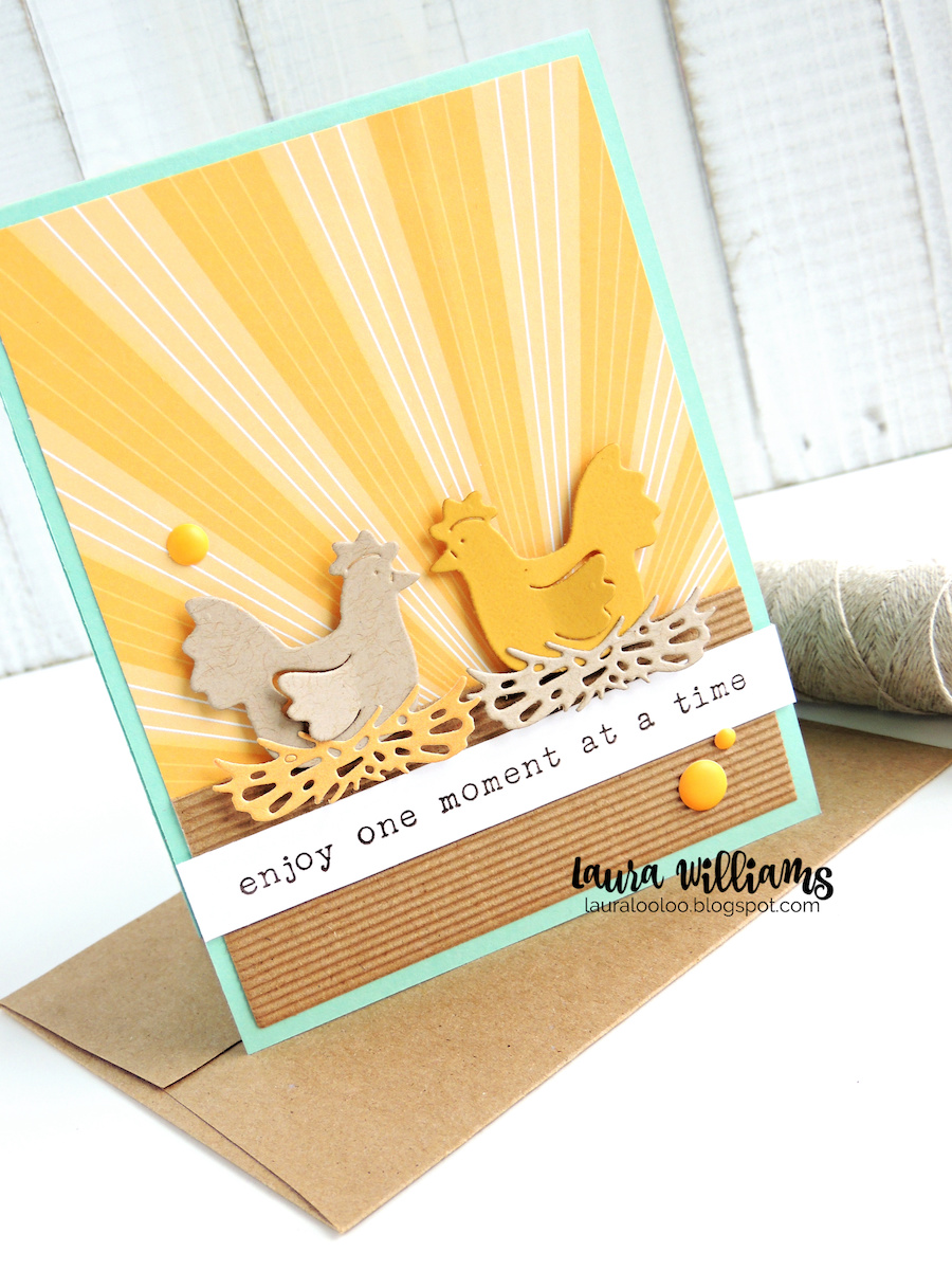 Hey there crafty chicks! Stop by my blog to check out three card ideas with the Sitting Hens dies from Impression Obsession. This sweet die set with two chickens + nest is adorable and simple to die cut for handmade cards and crafts, especially if you love the farmhouse, country style!