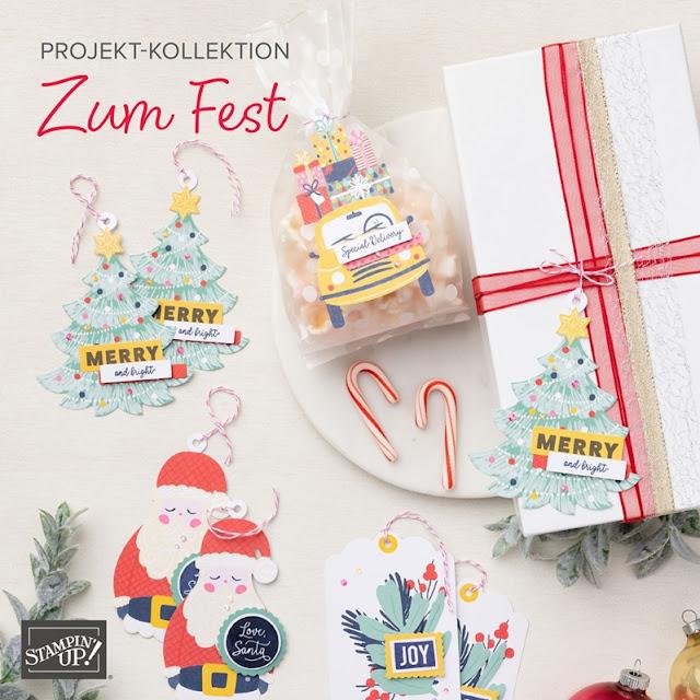 Stampin Up Set Zum Fest