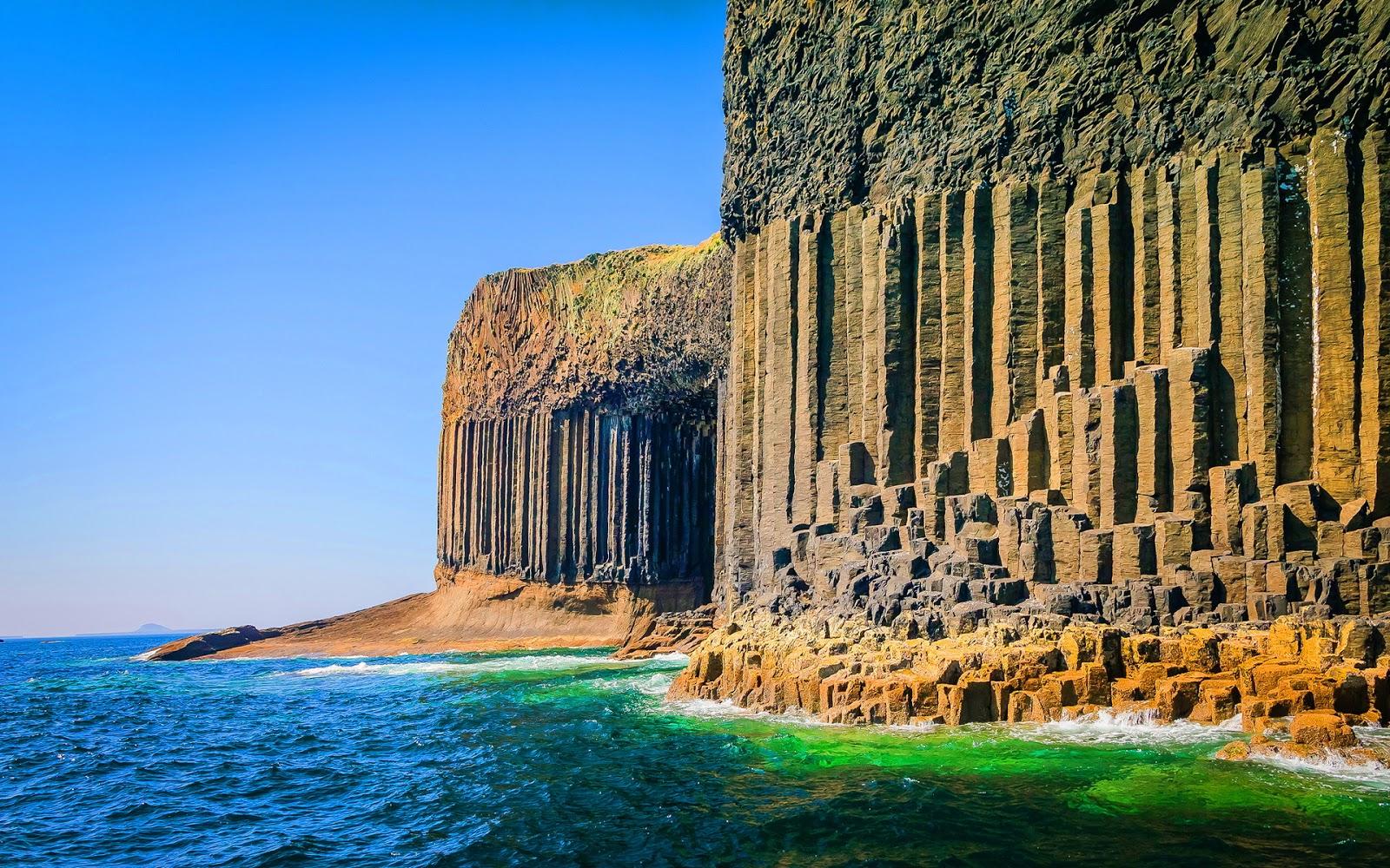 Isla de Staffa, Escocia