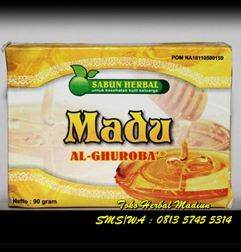 Sabun Herbal Madu Al Ghuroba BPOM