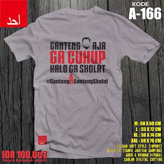 Ganteng Aja Gak Cukup Kalo Ga Sholat - Desain Baju Muslim