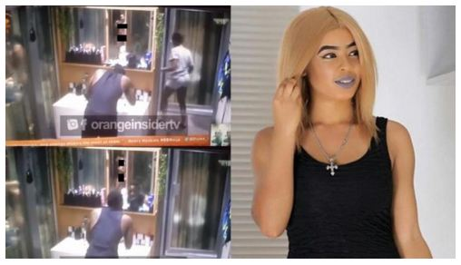#BBNaija 2018: Watch Nina's Shower Hour as She Goes N@k*d (Video)