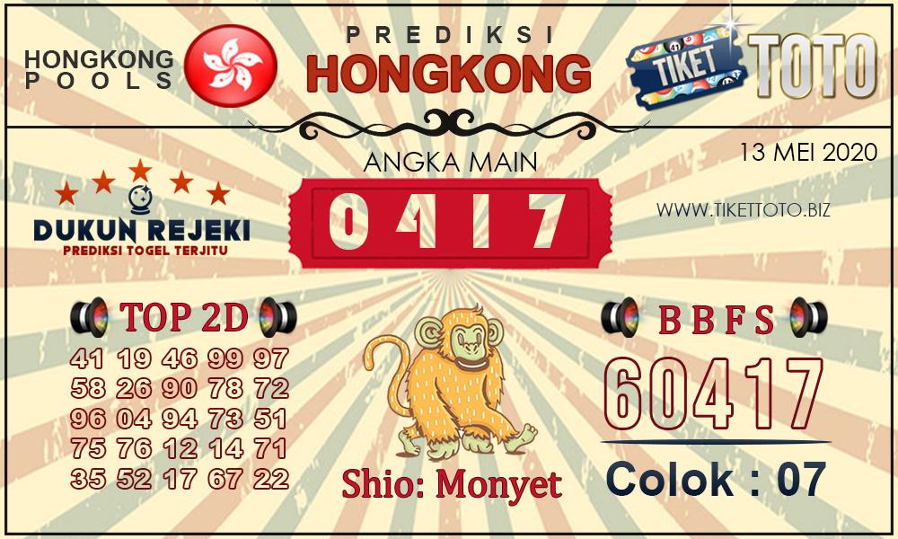 Prediksi Togel HONGKONG TIKETTOTO 13 MEI 2020
