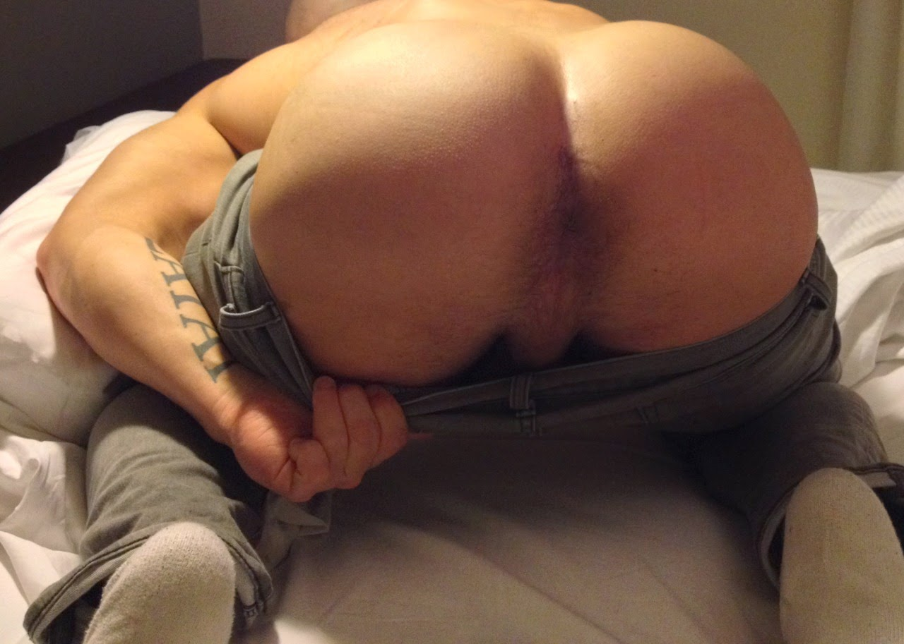 Spanked hard on the bare bum finger in asshole