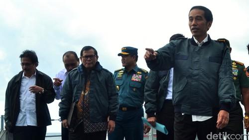 Jokowi Akan Bangun Pelabuhan, Bandara, Hingga Listrik di Natuna