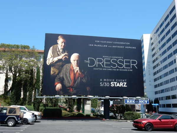 The Dresser 2016 movie remake billboard