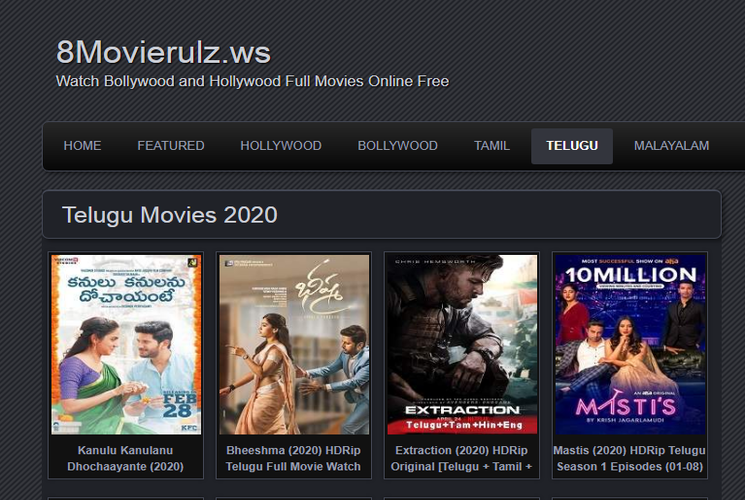 Movierulz 2020 | Watch Telugu Bollywood and Hollywood Full Movies Online Free