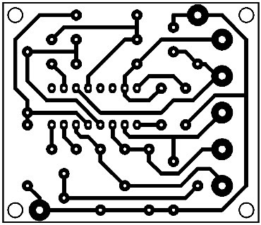Printed Circuit Low Noise Preamp
