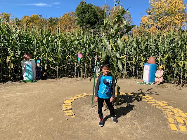 Hick's Family Farm Corn Maze
