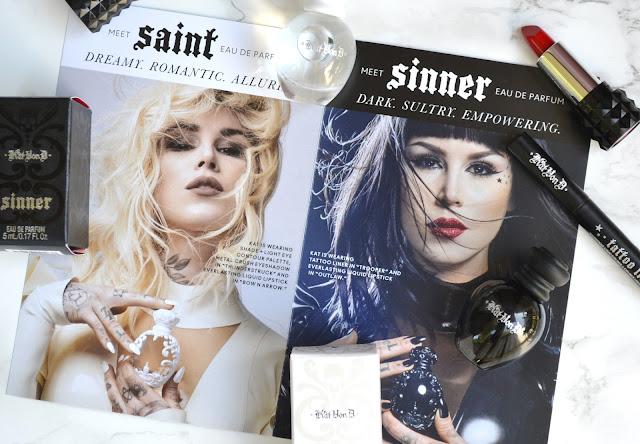 Kat Von D Saint and Sinner Voxbox