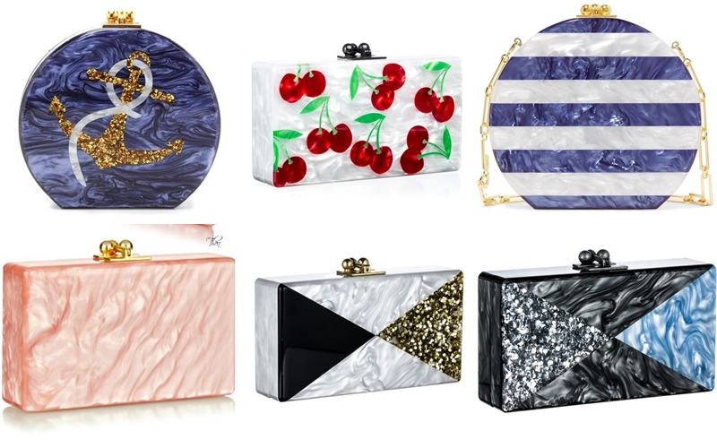 magnificent and beautiful Edie Parker clutches