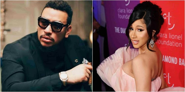 South Africa rapper Aka has once again bash Nigerians after a fan Tweets that he if Cardi B goes to South Africa the rapper won't mind begging her for bleaching cream.