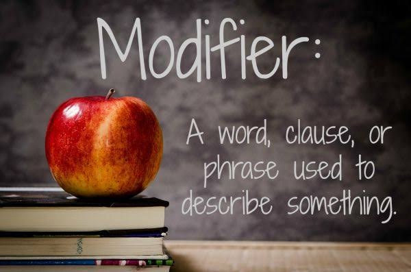 What are the different types of modifier in C?