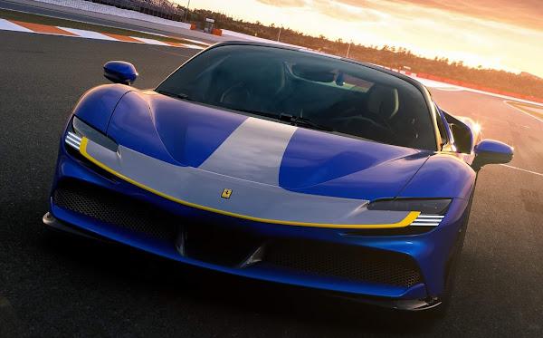Ferrari SF90 Spider: tecnologia e desempenho ao ar livre