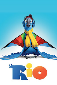 Poster Of Free Download Rio 2011 300MB Full Movie Hindi Dubbed 720P Bluray HD HEVC Small Size Pc Movie Only At worldfree4u.com