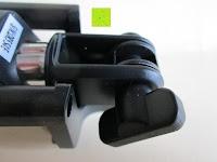 Schraube: Anker Bluetooth Selfie Stick Stange Stab mit 20 Stunden Akkulaufzeit für iPhone, Android und alle anderen Smartphones (Schwarz)