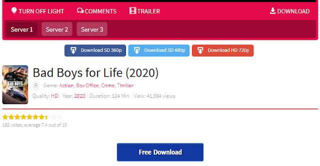 Nonton Film Bad Boys for Life Sub indo Streaming Movie