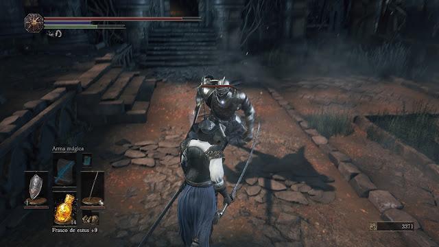 Caballero de Lothric Set de Lucatiel  Gran Muro Dark Souls III
