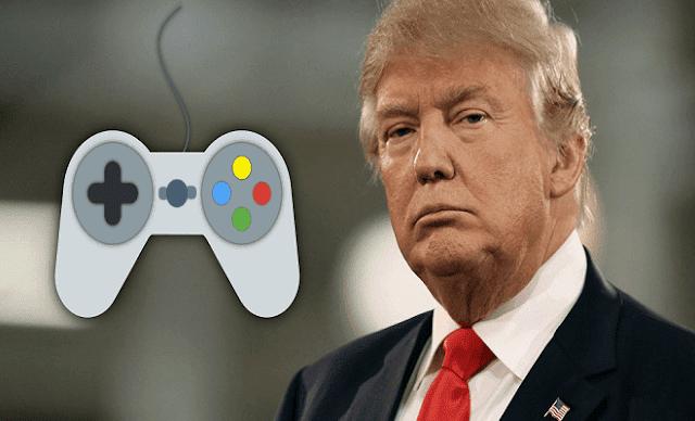 بعد هواوي ، دونالد ترامب يقضي على مستقبل ألعاب الفيديو !