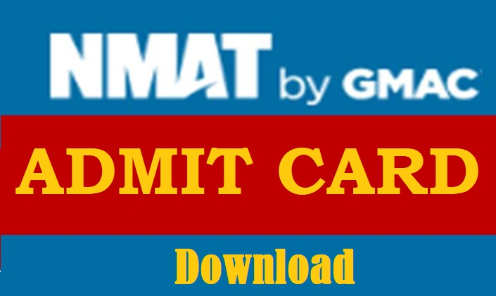 NMAT Admit Card Download available by GMAC