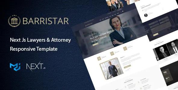 Best Next Js Attorney Template