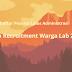 Daftar Peserta Lolos Administrasi Open Recruitment Warga Lab 2019