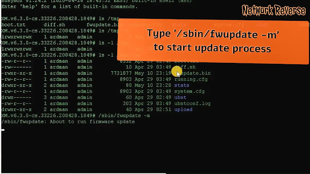 Update UBNT Firmware from Ubuntu 20.04 Windows Subsystem for Linux
