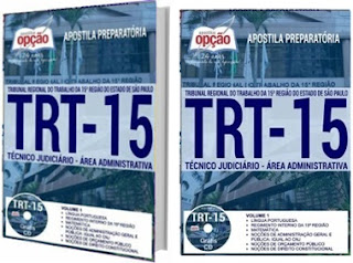 Apostila Concurso TRT-15 2018