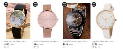 Haul zaful - bluza, szal, zegarek i kosmetyczka