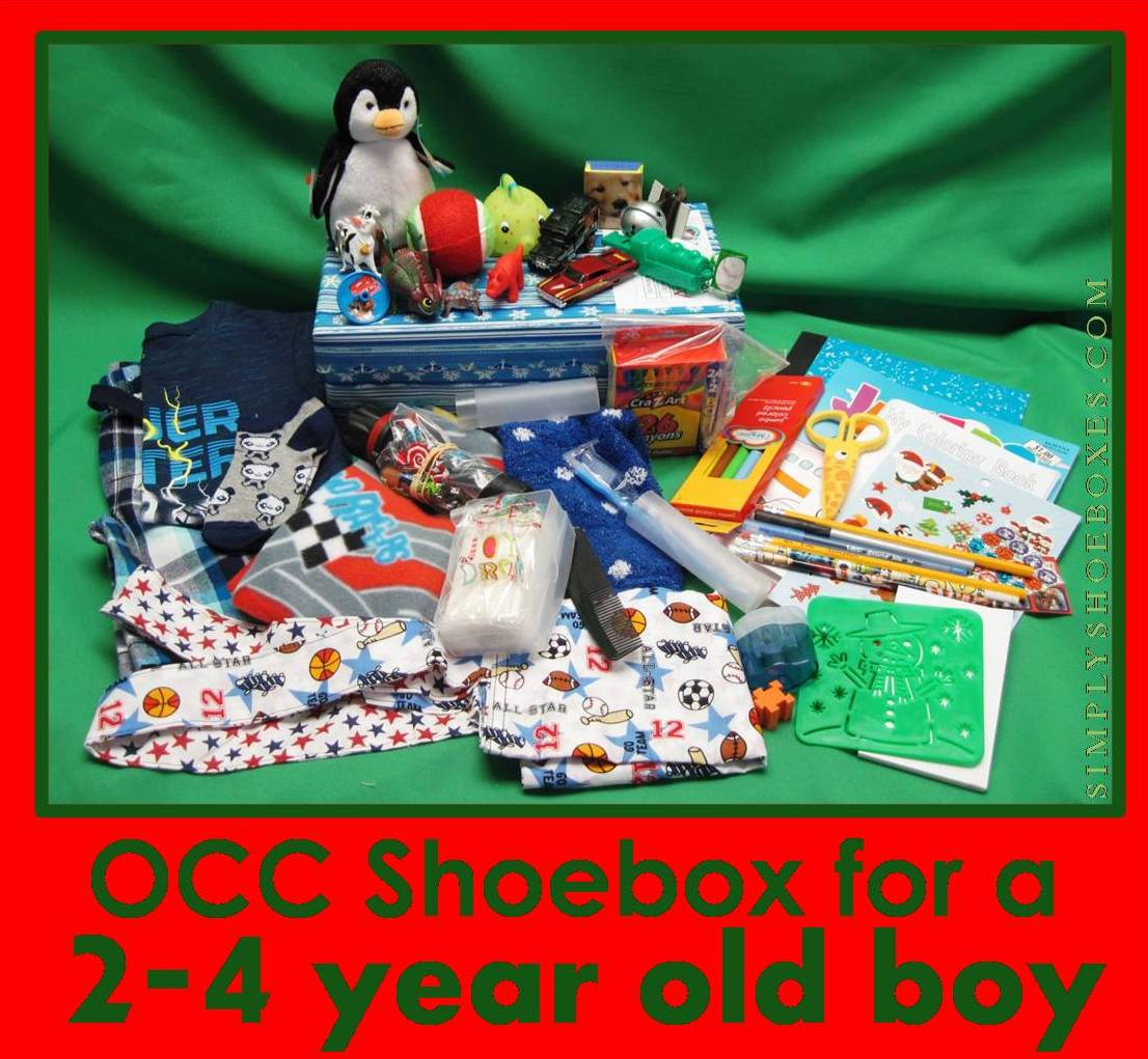 Christmas Shoebox.Simply Shoeboxes Operation Christmas Child Shoebox For 2 4
