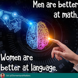 Men are better at math. Women are better at language. Fact or fiction?